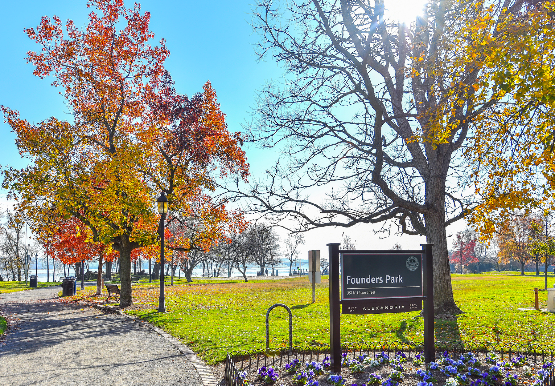 Old town alexandria living babs beckwith for Park towne