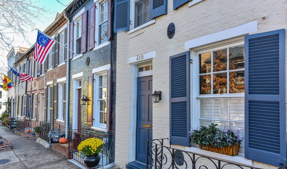 Historic Homes in Old Town Alexandria